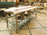 Parsons Table - Boat Style