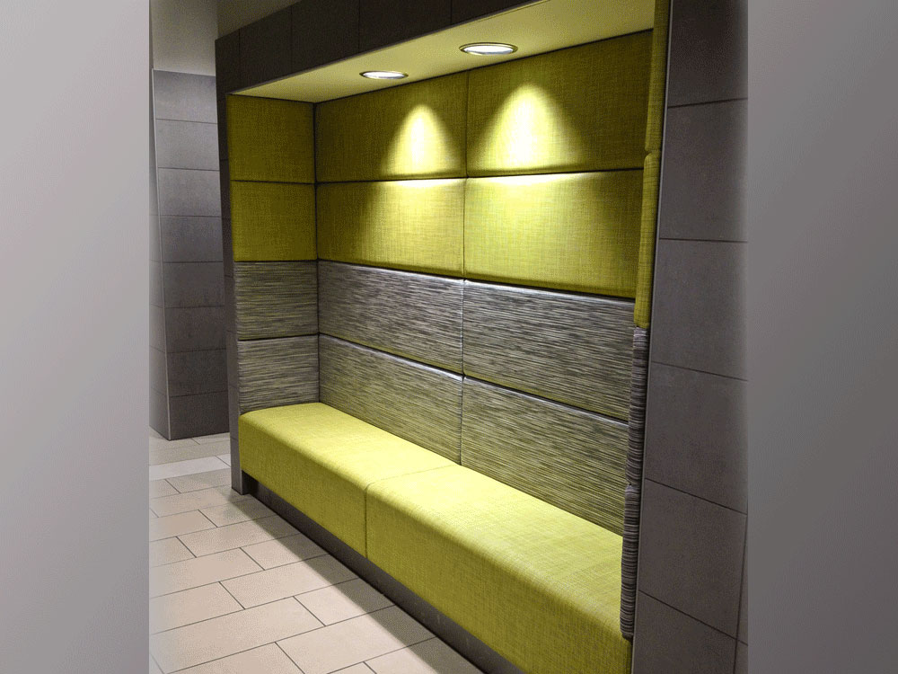 Alcove Seating (In-between Walls/Straight or Curved) » BGD Companies ...